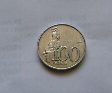 100 Rupiah coin 2001 Indonesia cockatoo