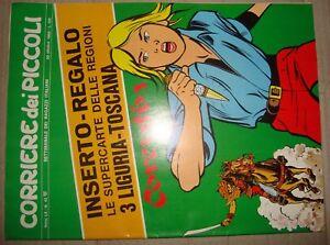 CORRIERE DEI PICCOLI ANNO LX NR.42 - 20 OTTOBRE 1968 JACOVITTI/JEAN GRATON/PEYO