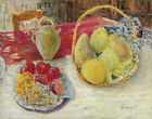 Pierre Bonnard Still Life With Fruit In The Sun Canvas Print 16 x 20   # 6336
