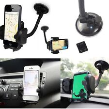 Phones MP3 MP4 Universal 360°Rotation Car Mount Holder Windshield Bracket