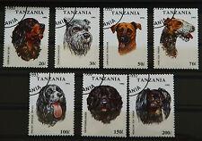 Briefmarken Hunde von 1993 aus Tansania