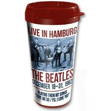 The Beatles Travel Mug, Official Licensed, 1962 Collection Hamburg, NEW