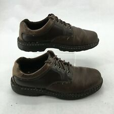 GBX Senate Casual Oxford Sneakers Shoes Lace Up Leather Brown Mens 10.5 Medium