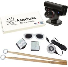 Aerodrums Air-Drumming Schlagzeug E-Drum INKLUSIVE PS3 Kamera