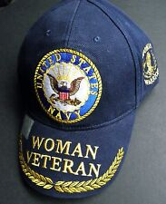 DISTRESSED COTTON Submarine Service Veteran Hat US Navy BLUE
