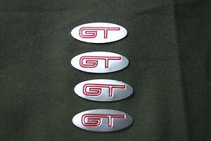4 x GT FPV WHEEL CENTER  BADGE FOR BA/BF/FG/ FORD FALCON FACTORY WHEEL CAP
