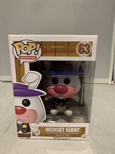 Hanna Barbera - Ricochet Rabbit Flocked Pop! Vinyl Figure No 63 Funko