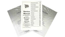 Jcb 3cx 4cx Backhoe Loader Service Shop Repair Manual Part 98033250