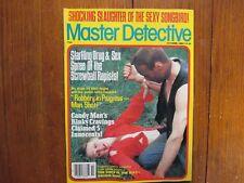"""Oct-1984 """"Master Detective"""" Magazine(ARTHUR  BISHOP/JACKIE SKEELS/ROSS  JUSTICE)"""