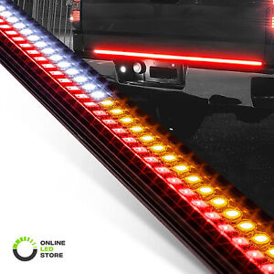 "60"" Rigid LED Tailgate Light Bar Sequential Turn Signal Brake Reverse Truck"