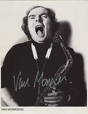 Van Morrison Signed 8 x 10 Photo Genuine In Person