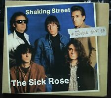 The Sick Rose  ‎– Shaking Street + The Double Shot E.P. Cd Digipack 2011 NM/Mint