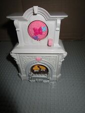 FISHER PRICE LOVING FAMILY HOME FOR THE HOLIDAYS DOLLHOUSE-FIREPLACE SOUND/LIGHT