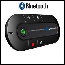 Bluetooth Handsfree Kit for Car Magnetic Microphone Calls From Smartphones USB