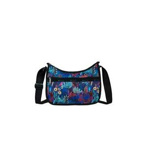 LeSportsac Classic Collection Classic Hobo Crossbody Bag in Night Garden NWT