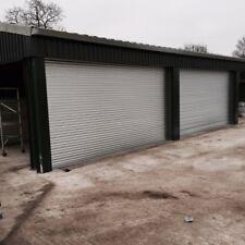 Electric Operation ROLLER SHUTTER DOORS 2800 x 2100 - galvanised steel