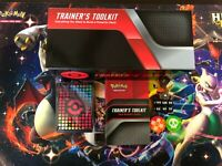 Pokemon Trainer's Toolkit Exclusive Card Sleeves + Dice + Card Storage Box Empty