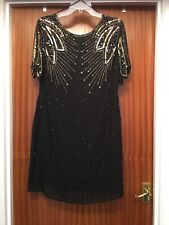 1920s Style Sequin Dress Size 18