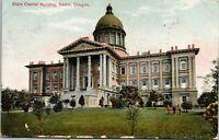 1910 Postcard - State Capital Building View - Salem, Oregon