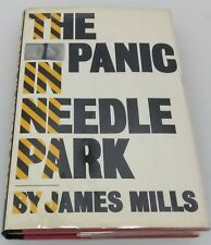 1st Ed ~ THE PANIC IN NEEDLE PARK by James Mills 1966 Hardcover