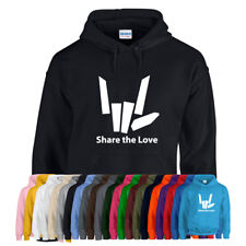 SHARE THE LOVE Hoody Hoodie Youtuber Youtube Adults Kids All Sizes All Colours