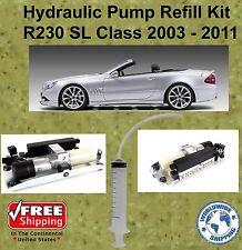 03-11 Mercedes Hydraulic Pump Refill Kit SL500 550 AMG Hardtop Convertible R230