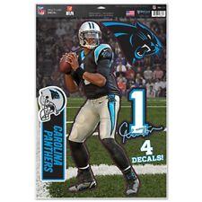 Carolina Panthers Cam Newton 11x17 Multi Use Decal Sheet [NEW] Sticker Cling