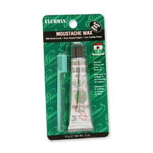 Clubman Pinaud Moustache Wax Black 0.5 oz