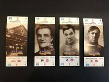1995-96  MONTREAL CANADIENS  COMPLETE SET UNUSED TICKETS