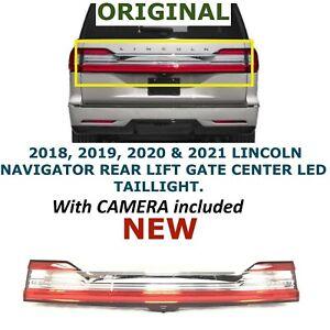 2018 2019 2020 2021 Lincoln Navigator tail gate light JL7B13B433AR NEW, camera