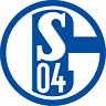 GROSSER S04 FC SCHALKE 04 AUFKLEBER AUTOAUFKLEBER AUTO RUND KÖNIGSBLAU WEISS NEU