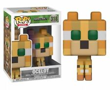 Minecraft Ocelot 9.5cm Pop Vinyle Figurine Pop Jeux funko 318 mojang GB Vendeur