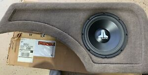 NEW Old School JL Audio 10W1TAN 93-95 Cherokee Stealthbox,Rare,NOS,NIB,94125,Tan