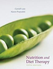 Nutrition And Diet Therapy Evidence-Based Applications by Carroll A Lutz