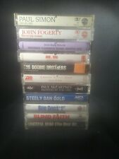 Lot Of 11 Classic Rock Cassette Tapes Grateful Dead, Blind Faith & Many More