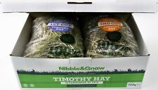 TRY ME BOX - 1st cut & 2nd cut Premium Timothy Hay for Rabbits - Nibble and Gnaw
