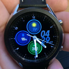 Samsung Galaxy Watch3 - 45mm (Bluetooth + WiFi) SM-R840 Black Band. USED - Good