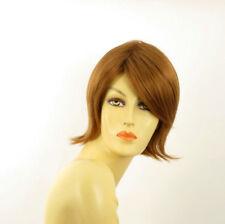 Parrucca donna corta biondo rame : ROSY 27