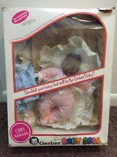 "Vintage 1979 Gerber 12"" African American Baby Doll Original Box Atlanta Nib"