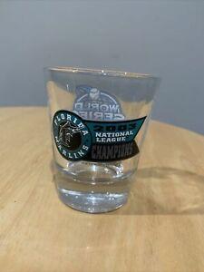 Florida Marlins 2003 Nations;last League Champions Shot Glass Single