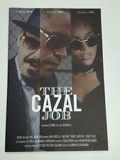 "CAZAL ""THE CAZAL JOB"" SUNGLASS LOOK BOOK SIZE 18.5"" X 12.2"" 12 PAGES"