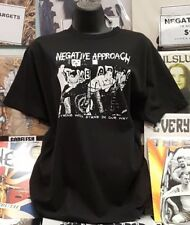 NEGATIVE APPROACH NOTHING WILL STAND Black Flag Misfits HARDCORE Ganggreen KBD