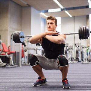 Knee Sleeve Support Crossfit Sleeves Weightlifting Powerlifting 7mm Neoprene