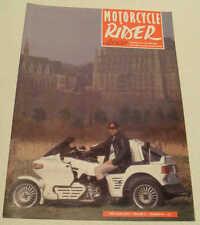 Bmf Revista May/jun 1993 Bmw r80rt, Corda Outfit, Ogar (czecoslovakian)