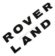 Negro Mate Sombrero Letras Land Rover FR descubrimiento 3 4 Lr3 Capucha Font logotipo Mate