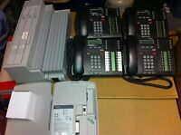 Nortel Compact ICS Office Phone System w/(4) T7316E VM