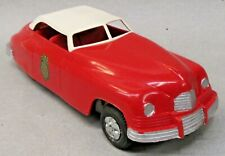 "circa 1948 Marx FIRE CHIEF CAR 10"" hard plastic friction drive WORKING r2"