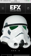 EFX STAR WARS A NEW HOPE STORMTROOPER HELMET 1/1 PRECISION CAST REPLICA