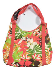 Hurley LEILANI Melon Green Brown Yellow Floral Shoulder Bag Tote Women's Purse