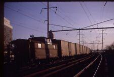 Penn Central-PRR-Pennsylvania RR N5 cab # 477218 @ Elizabeth NJ.1968 Kodak slide